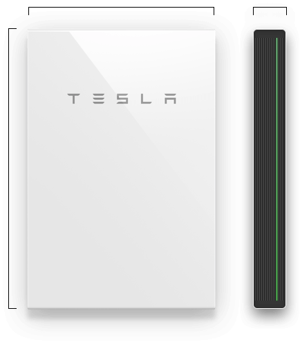 Bateria solar para hogar Tesla Powerwall