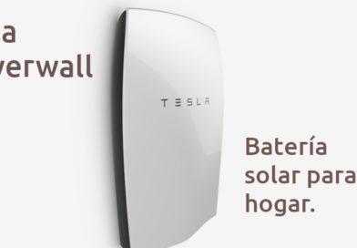 Tesla Powerwall - bateria solar para el hogar