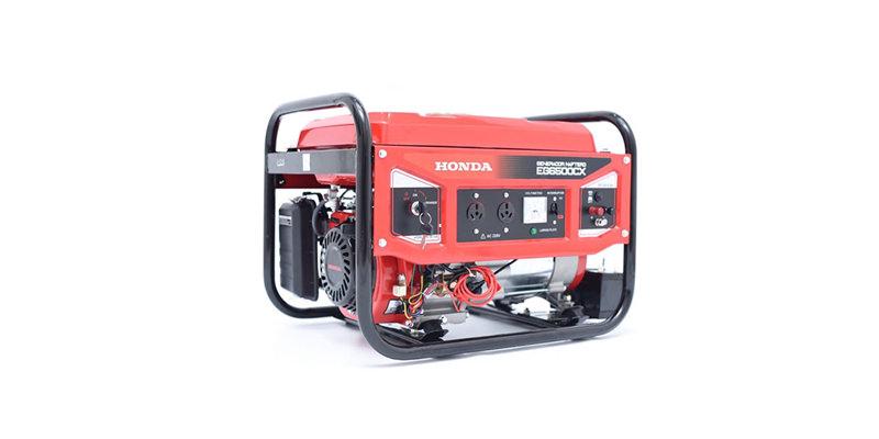 Imagen de un Generador eléctrico marca Honda